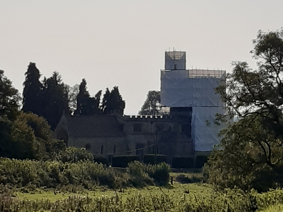 church tower from a distance