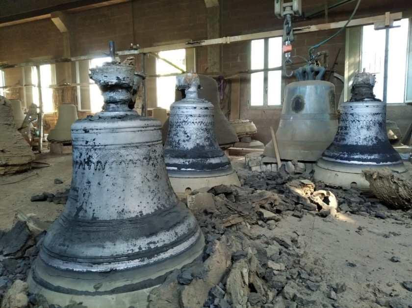 photo of cast bells